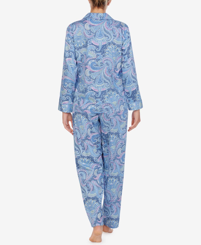 Lauren Ralph Lauren Printed Pajamas Set & Reviews - Bras, Panties & Lingerie - Women - Macy's