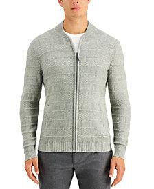 Tasso Elba Men's Luxe Zip-Front Sweater, Created for Macy's