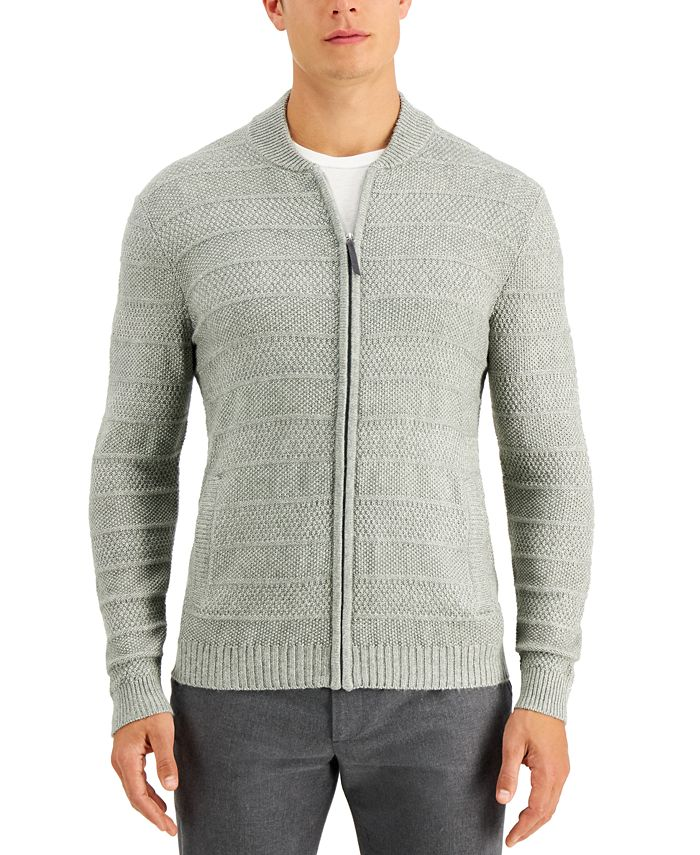 Tasso Elba - Men's Luxe Zip-Front Sweater