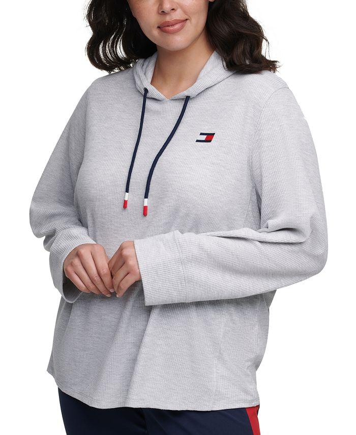 Tommy Hilfiger - Plus Size Waffle Rib Hoodie T-Shirt