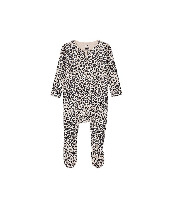 COTTON ON Baby Boys and Girls The Snug Long Sleeve Zip Romper