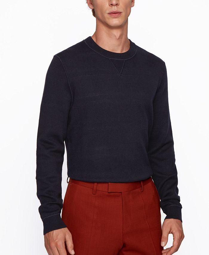 Hugo Boss - Men's Mateo Regular-Fit Sweater