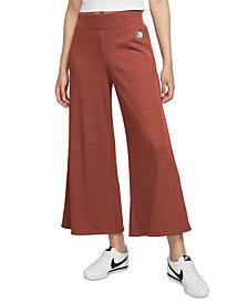 Nike Women's Femme Cropped Wide-Leg Pants