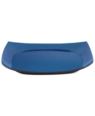 CLOSEOUT! Dansk Serveware, Nordic Blue Square Serving Tray