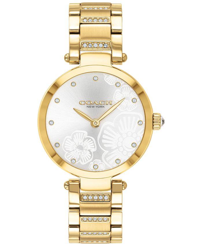 COACH - Women's Park Gold-Tone Bracelet Watch 30mm