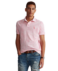 Polo Ralph Lauren Men's Pink Pony Tie-Dye Polo Shirt