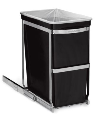 simplehuman Under-the-Counter 30 Liter Pull Out Trash Can