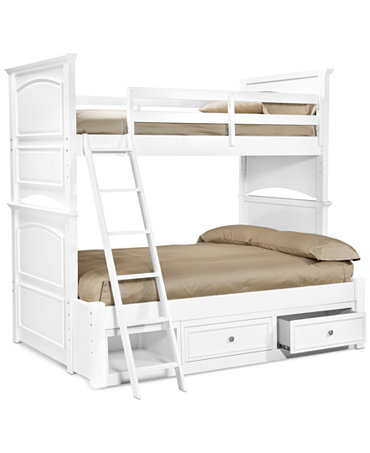 Roseville Twin Over Full Kids Bunk Bed Furniture Macy S
