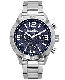 Timberland Men's Stainless Steel Bracelet Watch 49.5mm