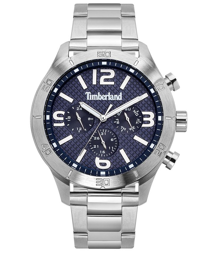 Timberland - Men's Stainless Steel Bracelet Watch 49.5mm