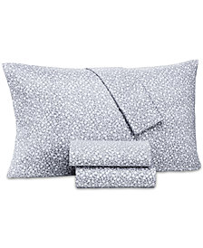 Charter Club Damask Designs Supima Cotton 550-Thread Count 4-Pc. Floral-Print Sheet Sets, Created for Macy's