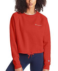 Champion Women's Campus Cropped Fleece Sweatshirt