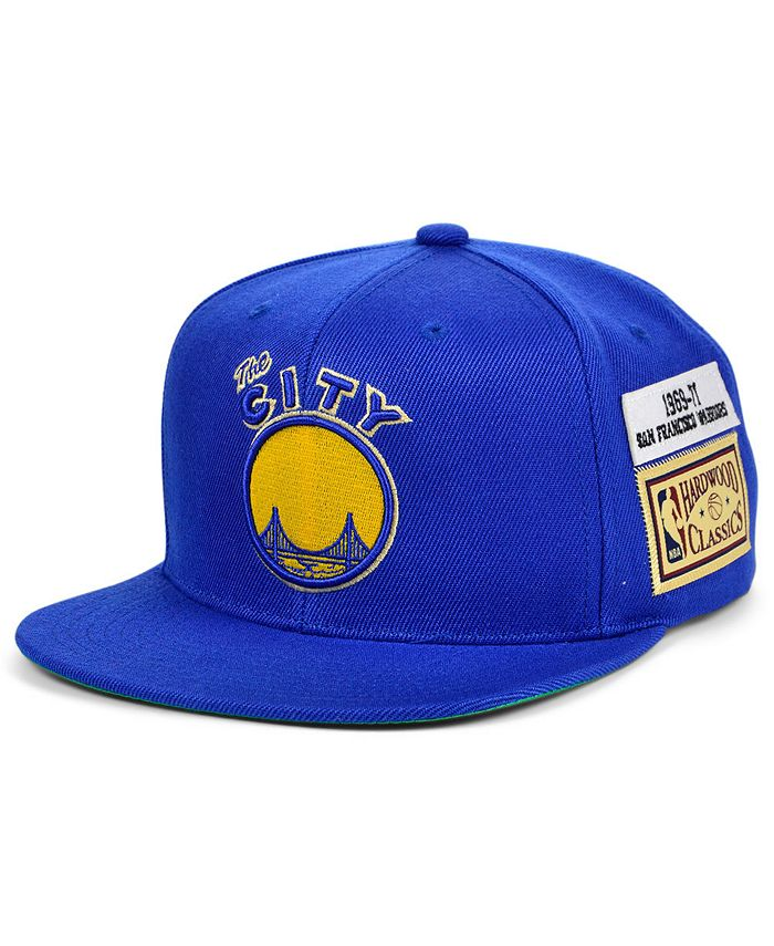 Mitchell & Ness - San Francisco Warriors Hardwood Classic Jockey Snapback Cap