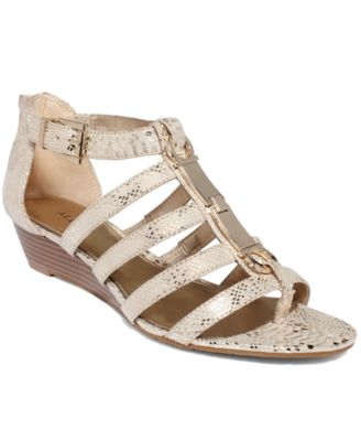 Gold Strappy Sandals: Buy Gold Strappy Sandals at Macy's