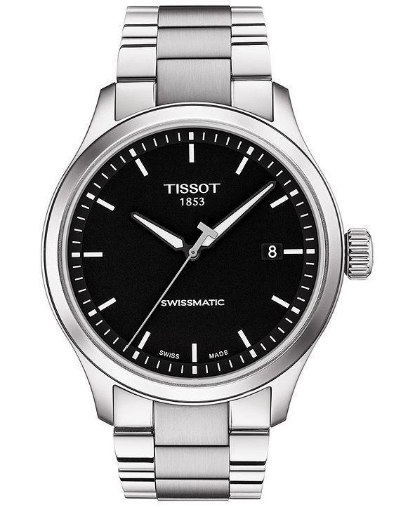 Tissot Men's Swiss Automatic Gent XL Swissmatic Stainless Steel Bracelet Watch 43mm