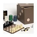 Studio Mercantile 5-in-1 Dice Box Game Set