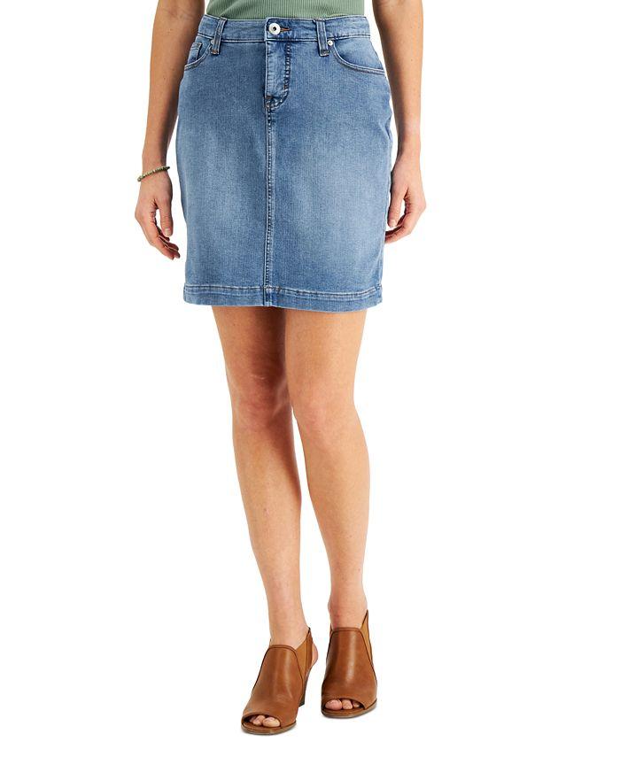 Style & Co - Basic Denim Skirt
