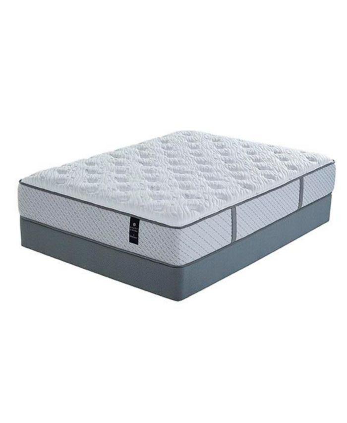 "Furniture Scott Living Indigo 12.5"" Plush Mattress Set- California King & Reviews - Mattresses - Macy's"