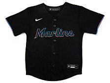 Nike Miami Marlins Kids Official Blank Jersey