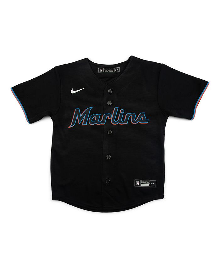 Nike - Miami Marlins Kids Official Blank Jersey