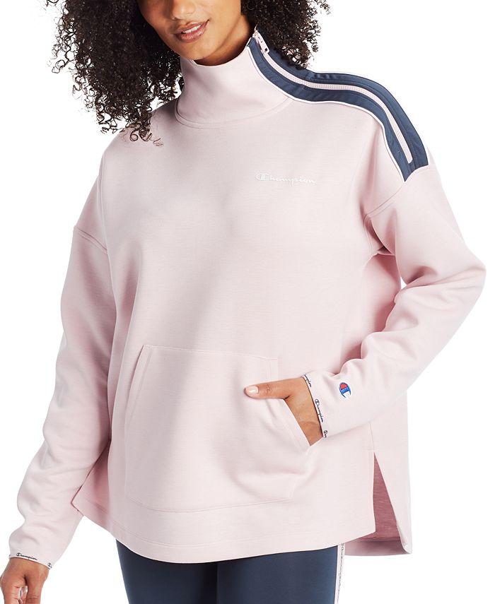 Champion - Mock-Neck Zip Sweatshirt