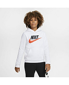 Nike Big Boys Sportswear Club Fleece Pullover Hoodie