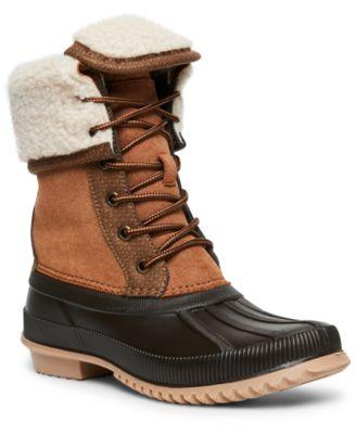 Madden Girl Climbber Duck Boots