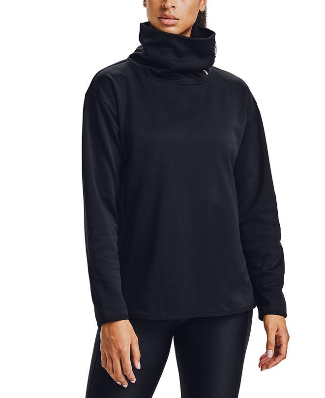 Under Armour Women's Fleece Funnel-Neck Sweatshirt