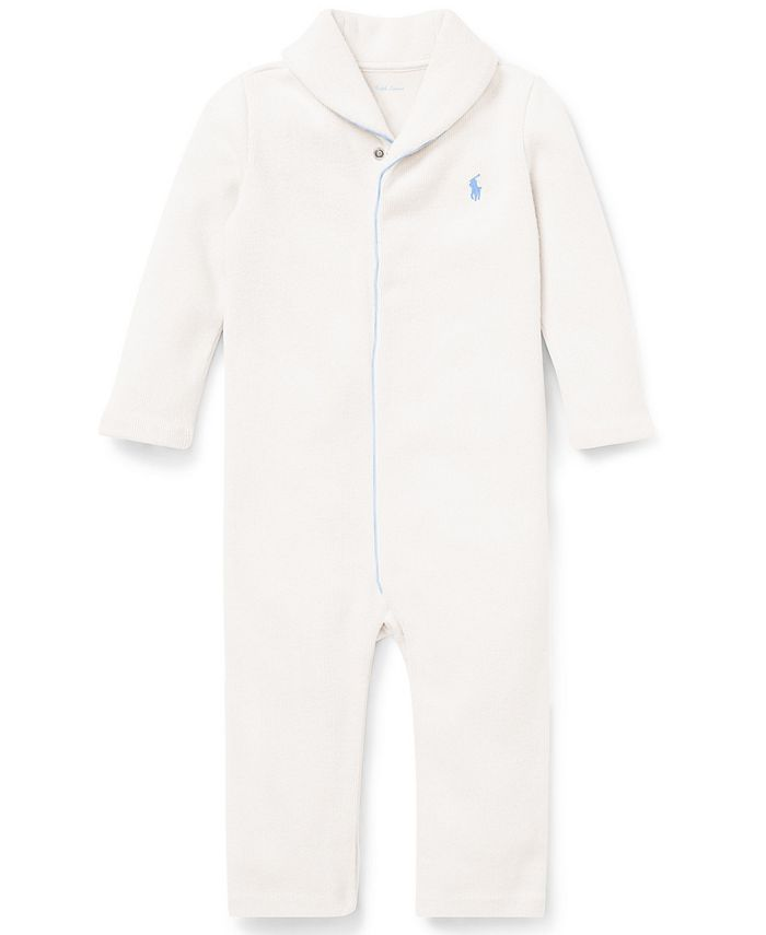 Polo Ralph Lauren - Baby Boys French-Rib Cotton Coverall