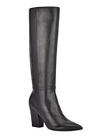 Nine West Women's Medium Gabal Heeled Boots