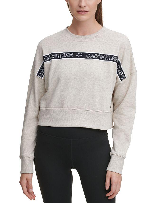 Calvin Klein - Outline Logo Tape Sweatshirt