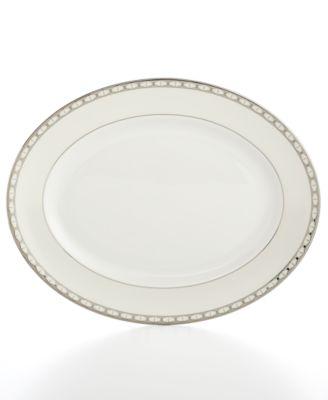 kate spade new york, Signature Spade Oval Platter