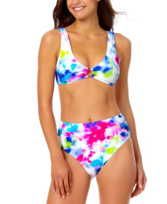Tie-Dyed Bikini Top, Created for Macy's