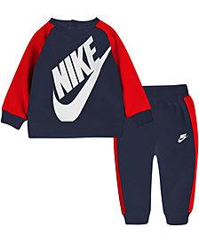 Nike Baby Boys Sweatshirt and Pants Set