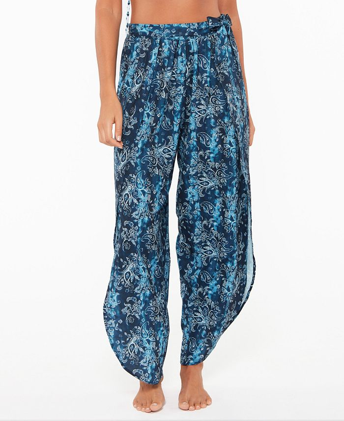 Jessica Simpson - Batik Babe Tie Waist Beach Pants