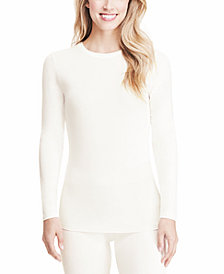 Cuddl Duds Softwear Long-Sleeve Crewneck Top