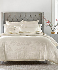 Hotel Collection Hydrangea Full/Queen Comforter, Created for Macy's