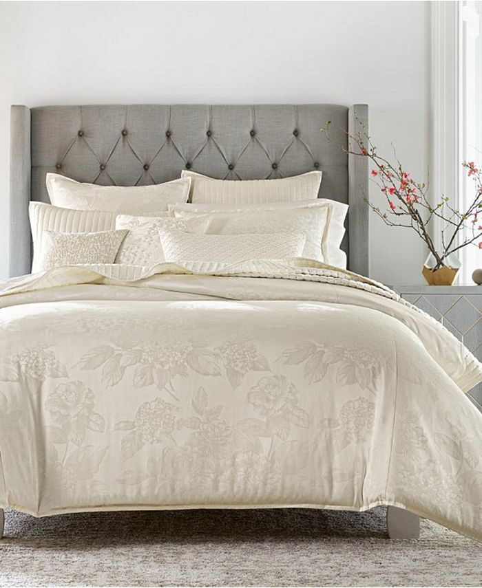 Hotel Collection - Hydrangea Full/Queen Comforter, Created for Macy's