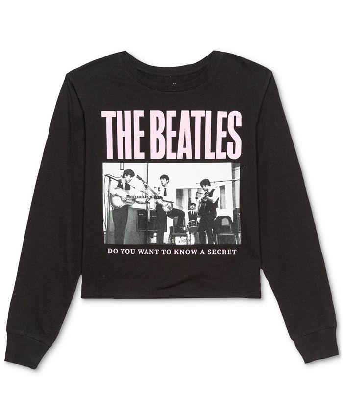Love Tribe - Juniors' Beatles Long-Sleeve T-Shirt