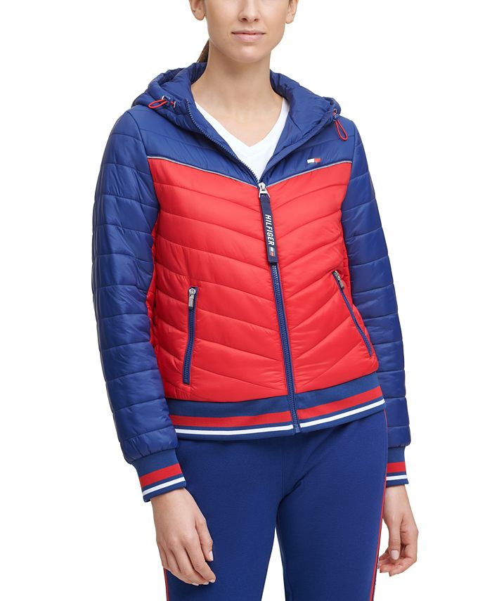 Tommy Hilfiger - Colorblocked Quilted Jacket
