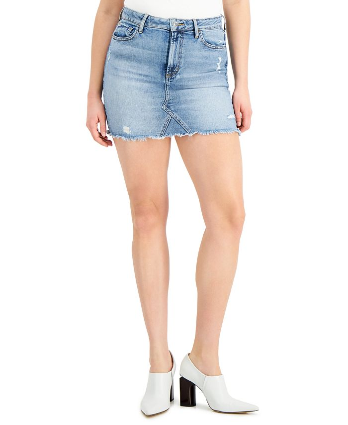 GUESS - Denim Mini Skirt