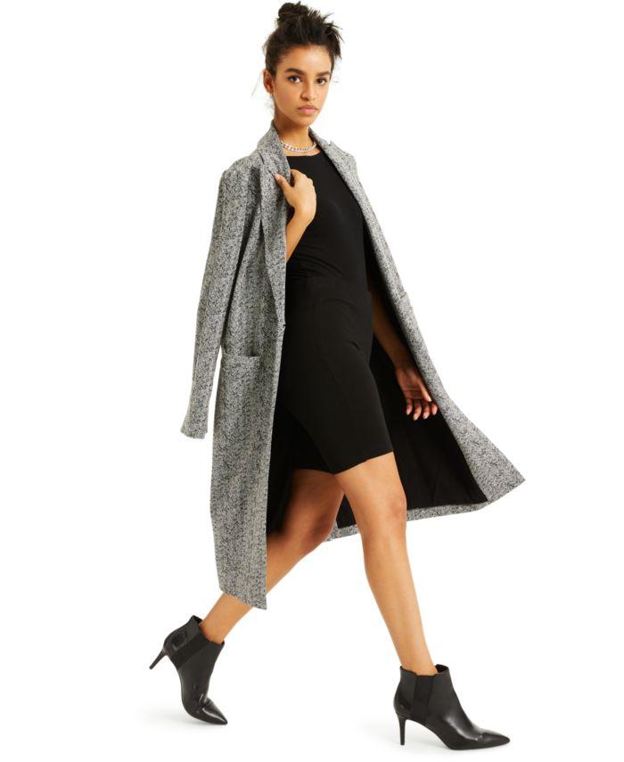INC International Concepts CULPOS X INC Knit Coat, Created for Macy's & Reviews - Coats - Women - Macy's
