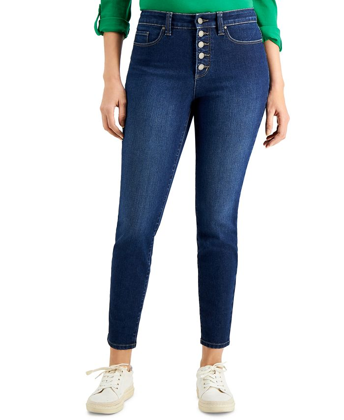 Charter Club - Windham Button-Fly Skinny Jean