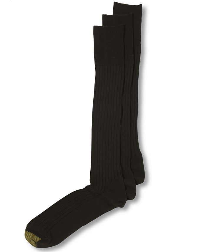 Gold Toe - ADC Canterbury Over the Calf 3 Pack Crew Dress Socks