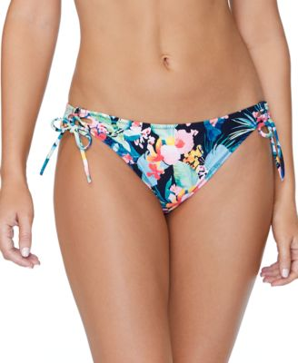 Juniors' Coconut Grove Side-Tie Bikini Bottoms