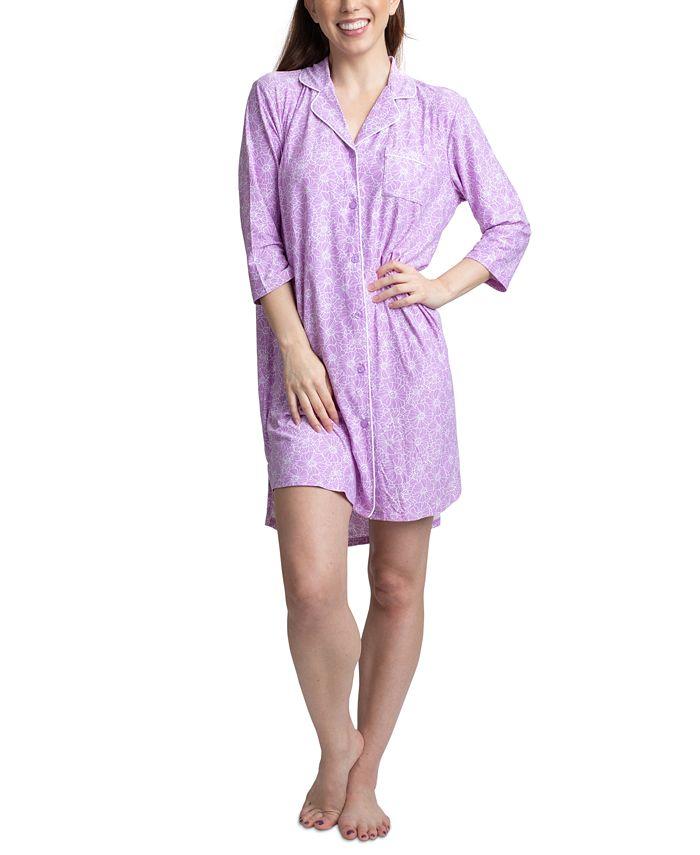 Muk Luks - Printed Sleep Shirt