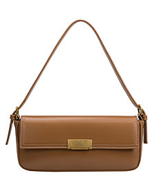 Melie Bianco Claire Small Vegan Leather Shoulder Bag