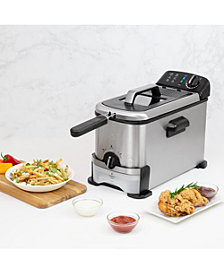 Kalorik 3.2-Qt. Deep Fryer with Oil Filtration