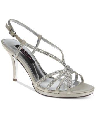 Strappy Heels Silver