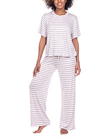 Honeydew Women's All American Printed Loungewear Set